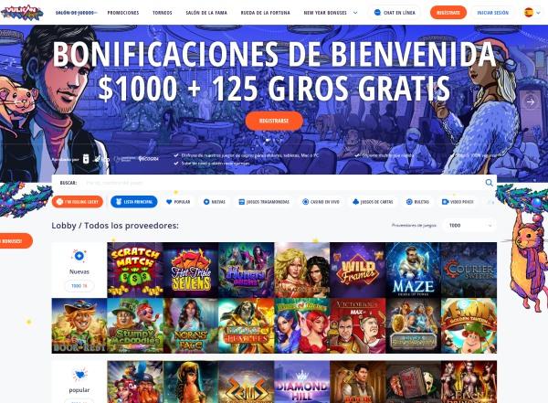 Bono de Bienvenida de Vulkan Vegas Casino